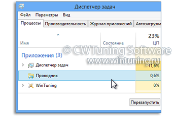 WinTuning: Программа для настройки и оптимизации Windows 10/Windows 8/Windows 7 - Автоматически перезагружать оболочку