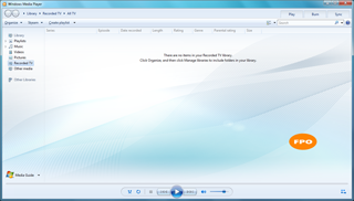 Windows Media Player: Фон для раздела Библиотека - Данная настройка подходит для Windows 7