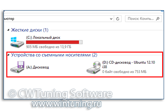 Запретить чтение/запись для всех ЗУ - Данная настройка подходит для Windows 8