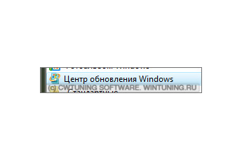 Запретить обновление Windows - Данная настройка подходит для Windows Vista
